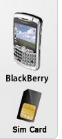 Blackberry rental for Israel