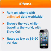 iphone or iphone Sim Card Rental